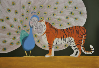 fiona morley wire and emulsion wire Peacock and tiger love relationship