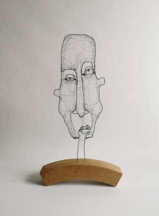 Long face - art by Fiona Morley